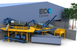 EcoCentral Glass Pulverising Plant Case Study