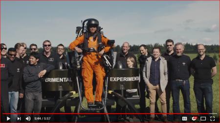 Martin Jetpack Flight Crew with Motovated staff 2017