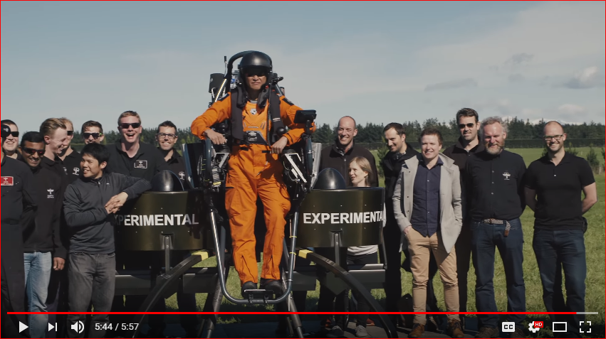 Martin Jetpack Flight Crew with Motovated staff 2017