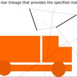 Motovated Brain Teaser - 4 bar linkage