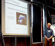 Greg at Aerospace Meetup #3