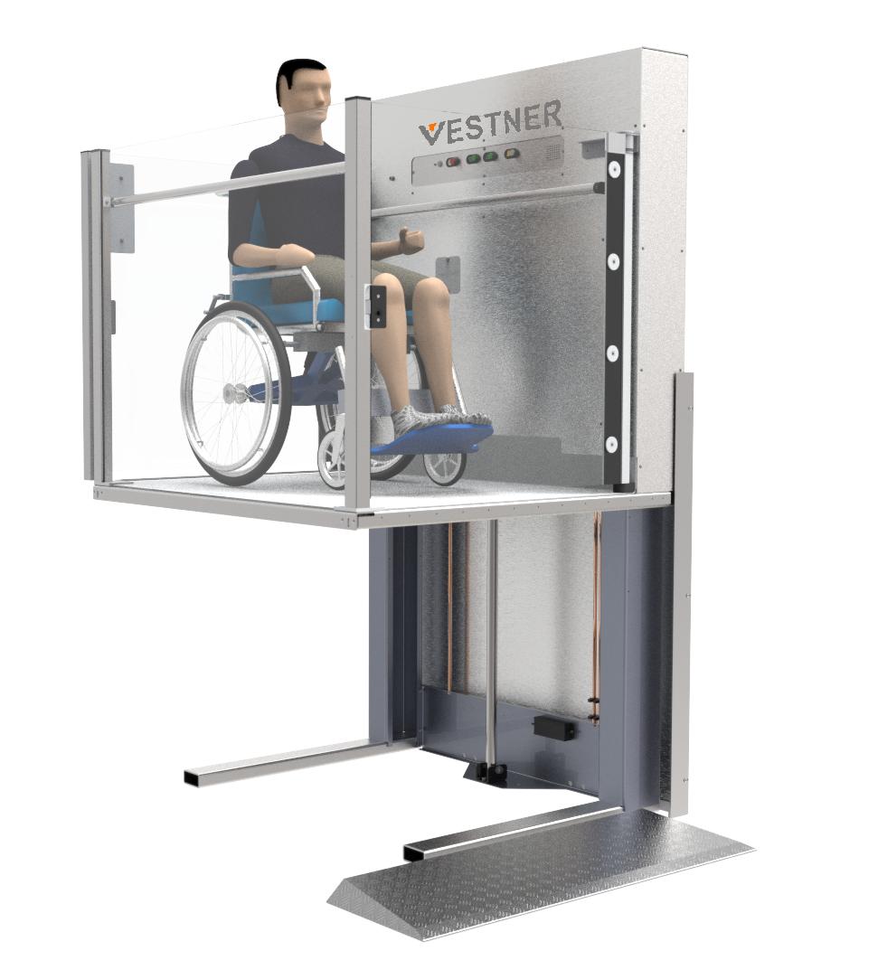 vestner lift design by Motovated machine Development team