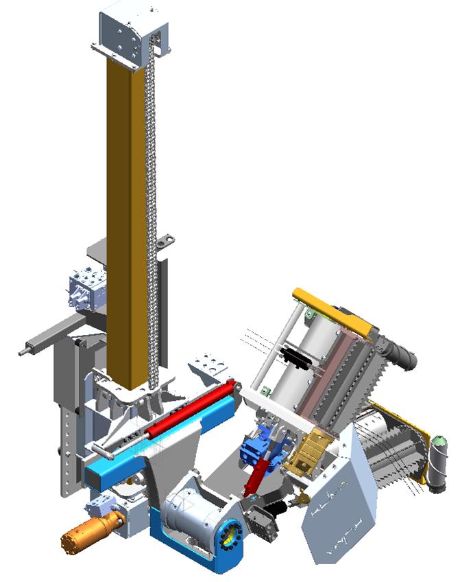 Klima cane pruner Gen II designed by Motovated solid edge model